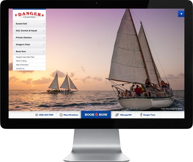 Danger-Charters-Key-West-Web-Design