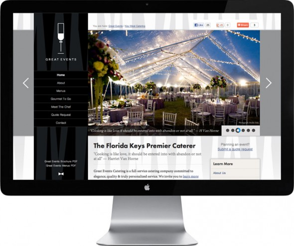 Great-Events-Key-West-Web-Design