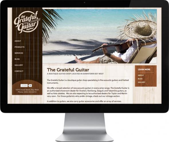 The-Grateful-Guitar-Web-Design